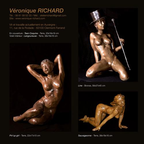 Catalogue exposition Christiane Millan et Véronique Richard à l'AMAC - Chamalières